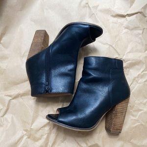 H&M Peep Toe Booties